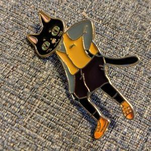 Jewelry - Cat daddy pin!